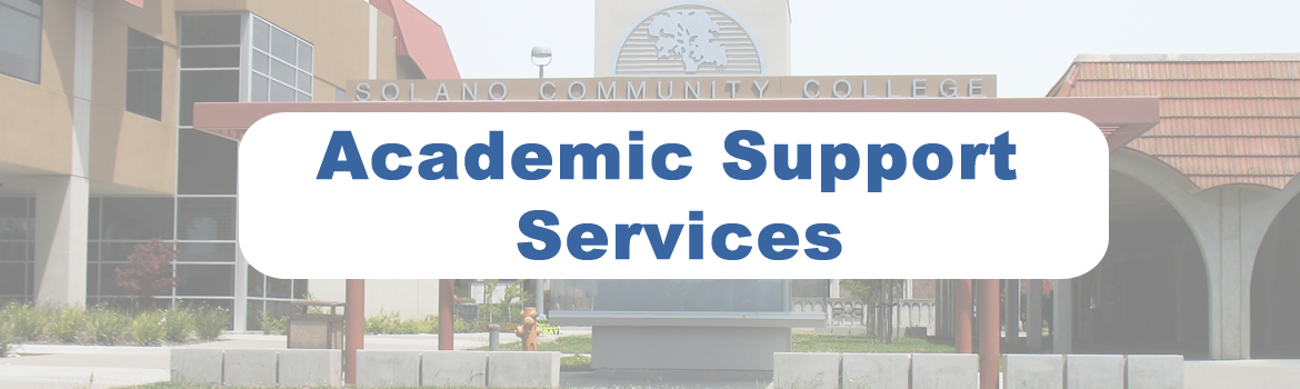 Academic Support Services Header