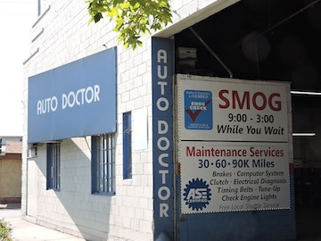 Smog Inspection station