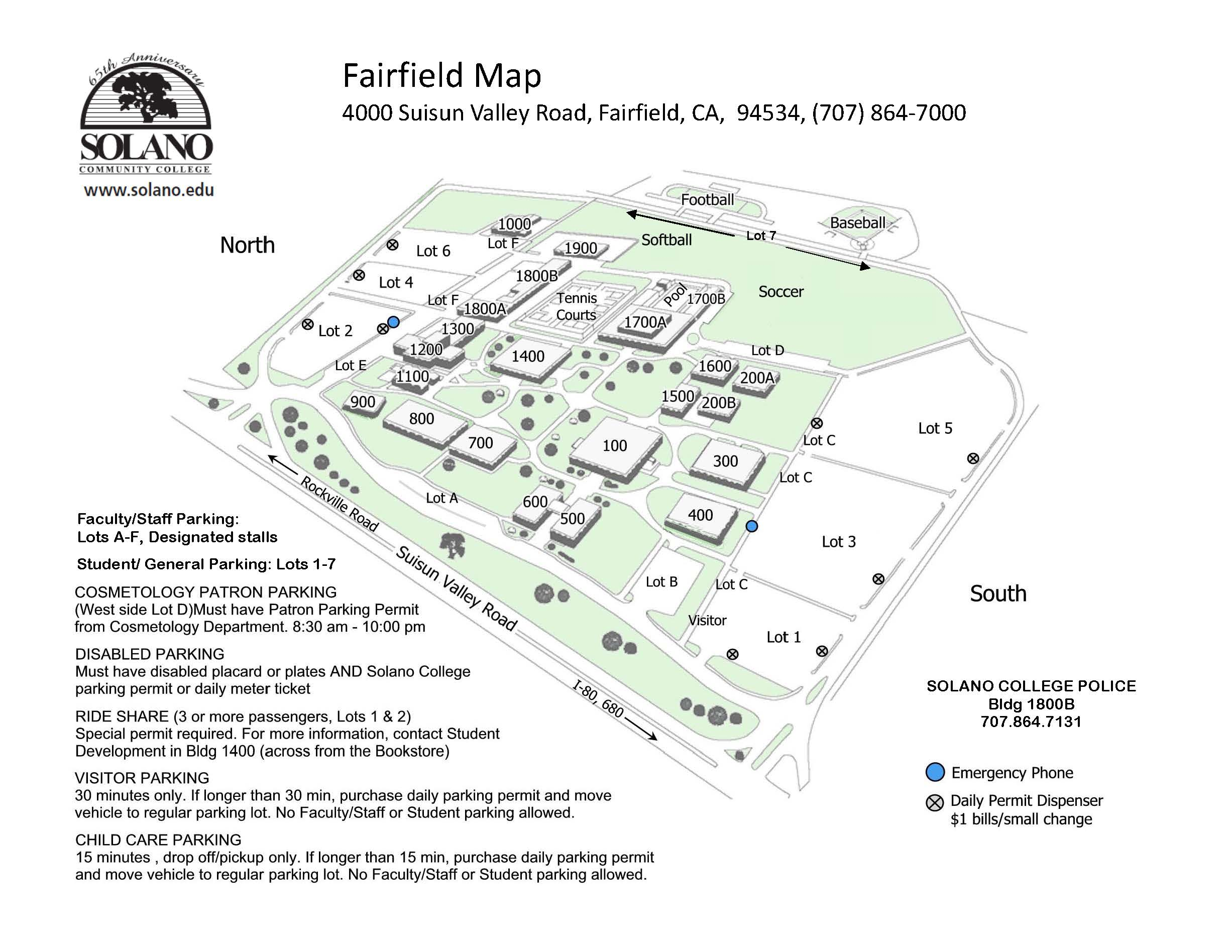 Solano Community College Fairfield Locations