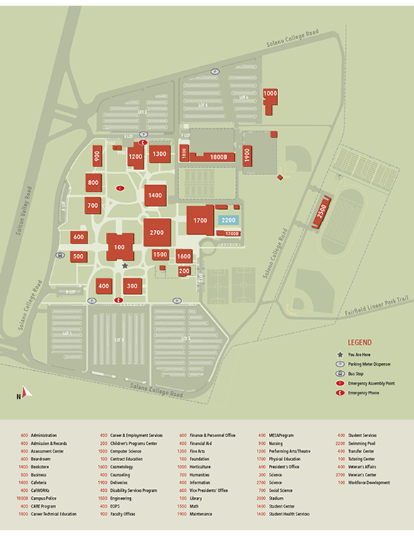 Solano Community College - Fairfield Locations