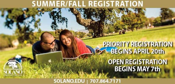 Fall Semester 2015, Priority Registration starts April 20, 2015. Open Registration starts May 7.