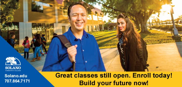 Great classes still open. Enroll Today! Build your future now!