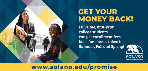 Get your money back! Full-time, first-year college students can get enrollment fees back for classes taken in the Summer, Fall and Sprind!
