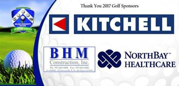 Thank You 2017 Golf Sponsors, Kitchell, BHM Construction, North Bay Health Care