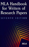 mla handbook for writers of research papers 8th edition pdf