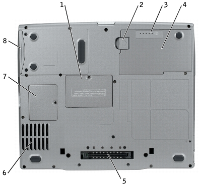 About Your Computer: Dell Latitude D610 User's Guide